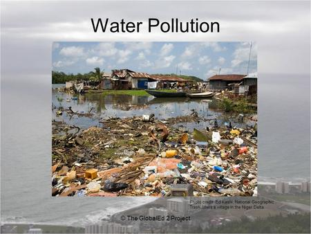 How to detect there is a water pollution at your home?